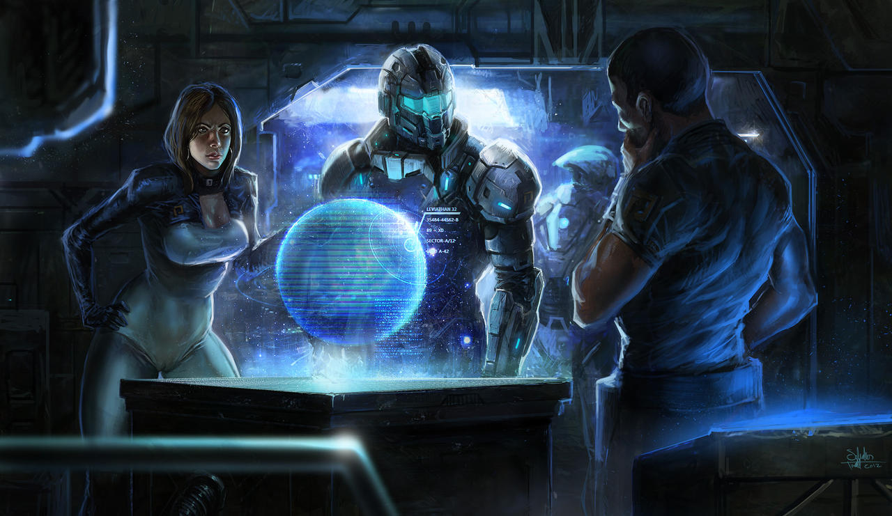 Command Center by SalvadorTrakal