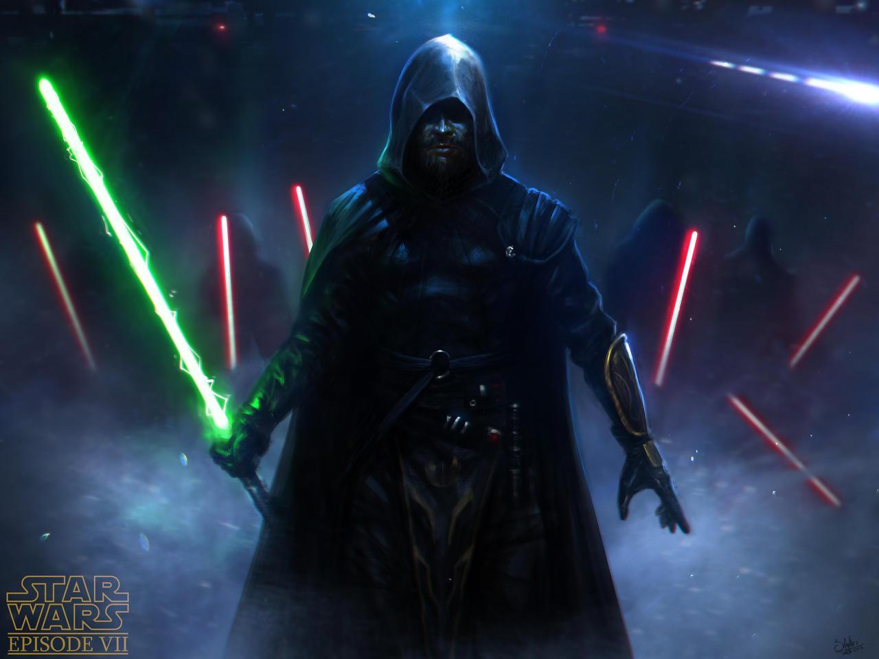 Luke Skywalker by SaturnoArg