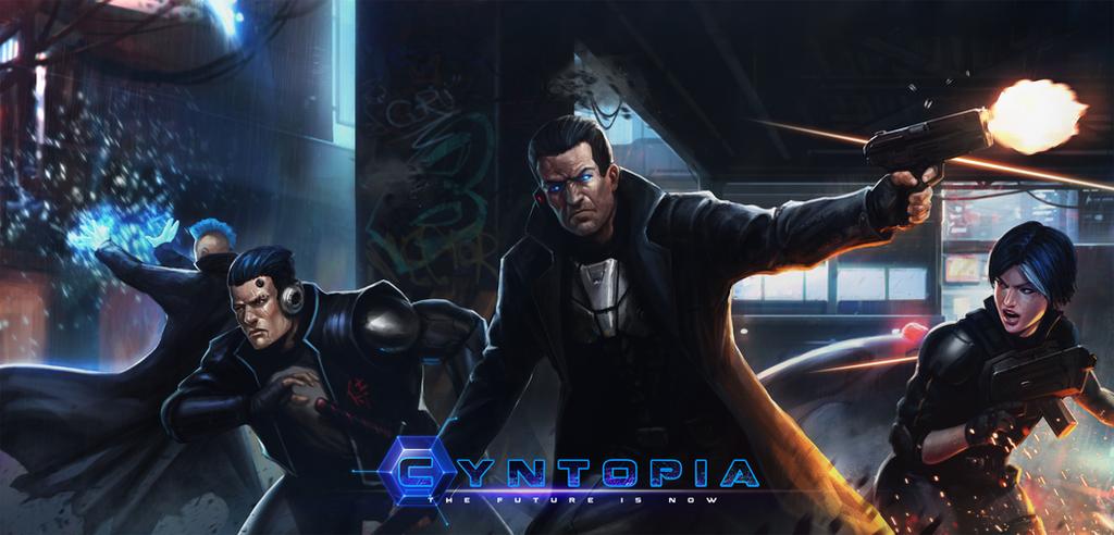 Cyntopia - Box Art by SaturnoArg
