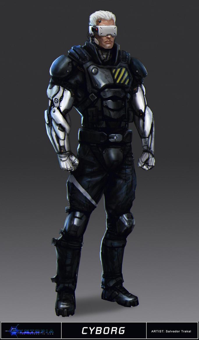 Cyntopia - Cyborg Concept Art by SaturnoArg