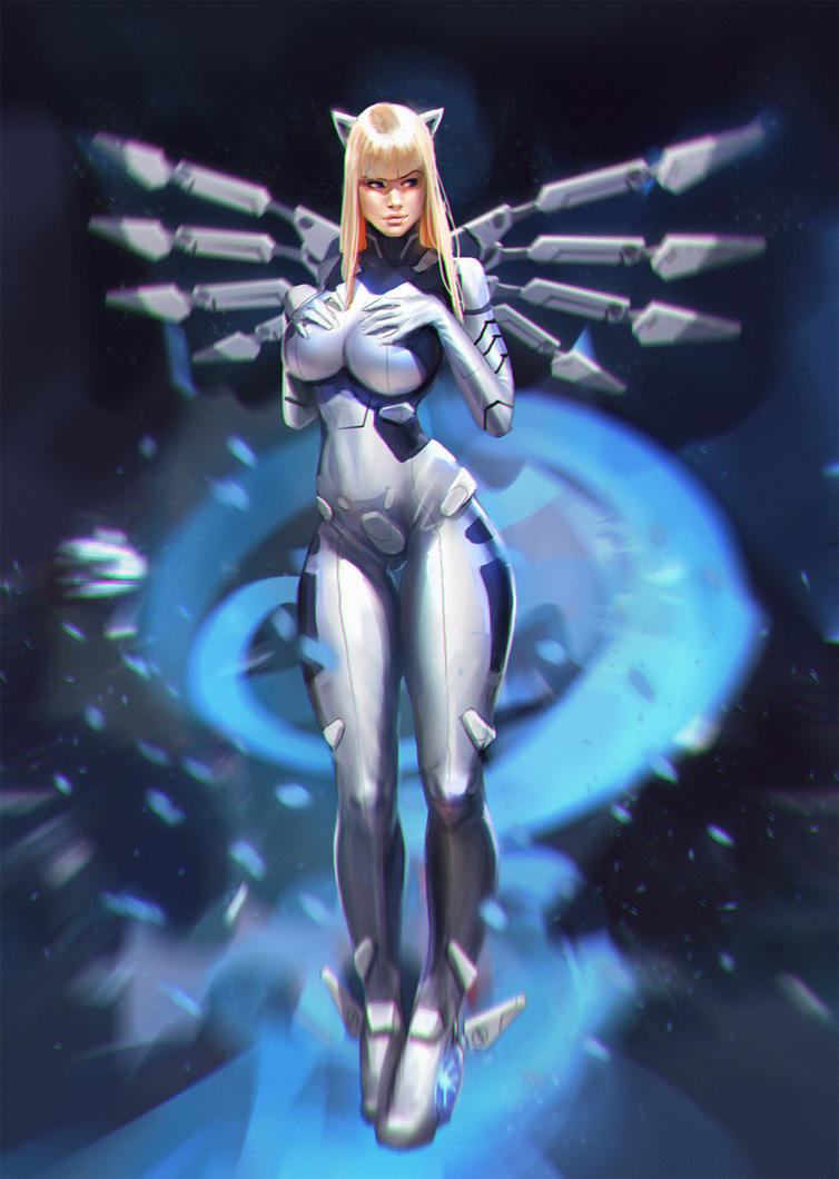 sexy anime space suit - photo #22