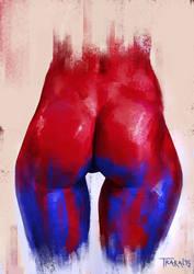 Red-Blue by SalvadorTrakal