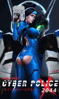 Neo Tokyo Cyber Police 2044 by SalvadorTrakal