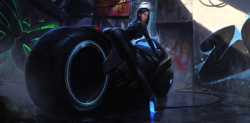 Cyber by SalvadorTrakal
