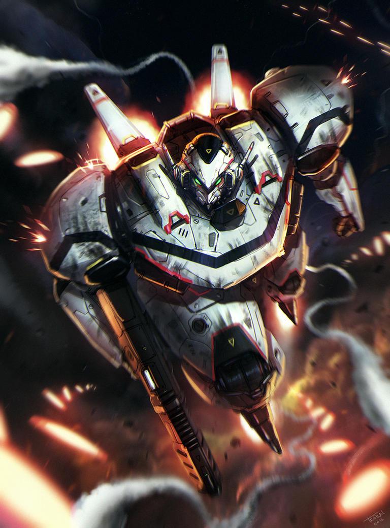Combat Mech by SalvadorTrakal