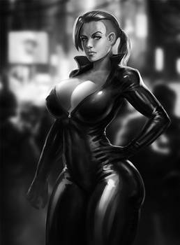 Catsuit Sketch