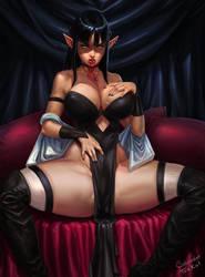 Vampiress by SalvadorTrakal