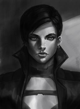 Portrait Sketch Female