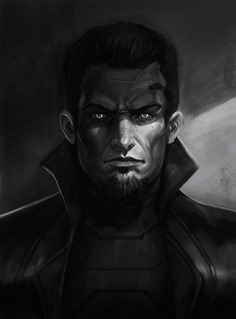 Portrait Sketch Male by SalvadorTrakal