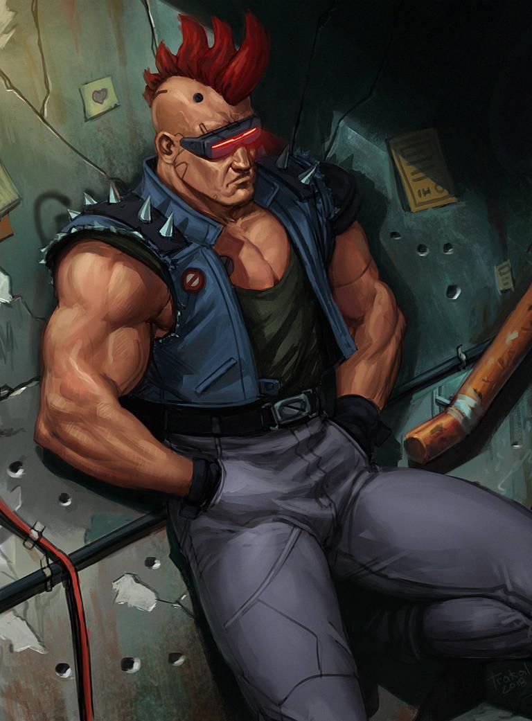 Cyber-Dude by SalvadorTrakal