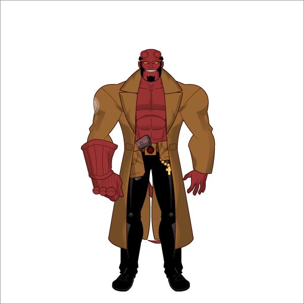 Hellboy by FabricadeHerois on DeviantArt