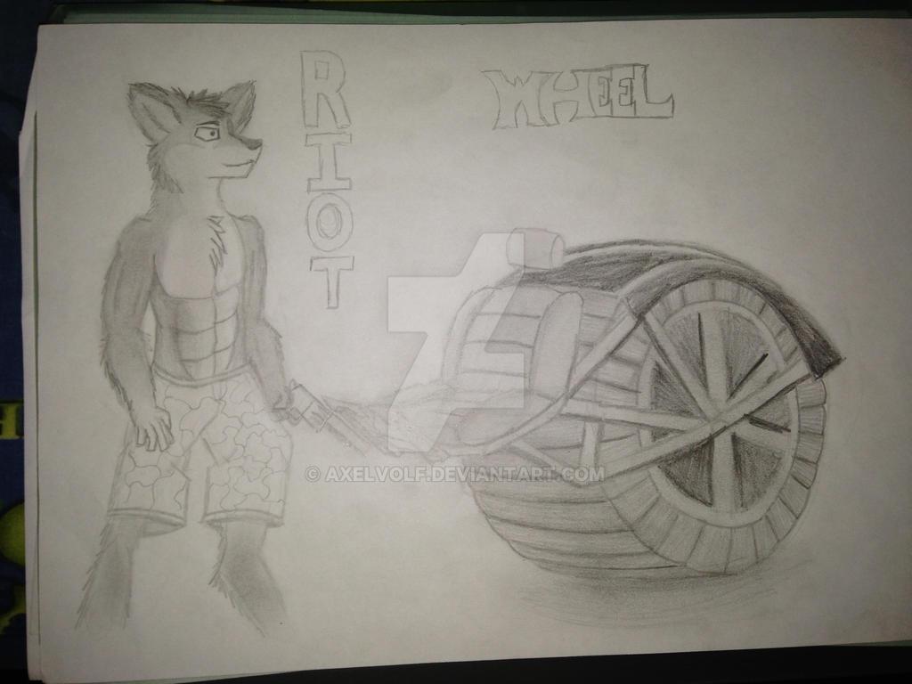 R. I. O. T. Wheel by Axelvolf