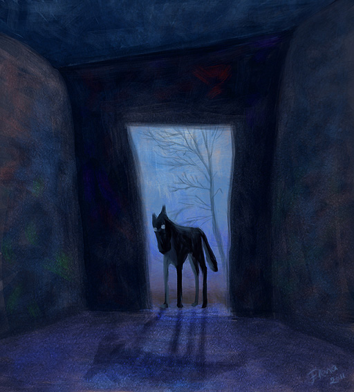 A Wolf At The Door 2 by ElenaTurtle