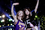 Sunny, Sooyoung 130901 Korean Music Wave Concert