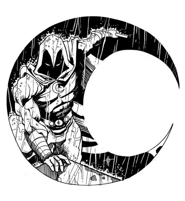 Moon Knight Dsc 6 22 10 By Aaronhoustonart On Deviantart