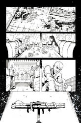 Clockwork page 1 by AaronHoustonArt