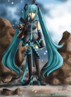 Miku Hatsune by Sartika3091