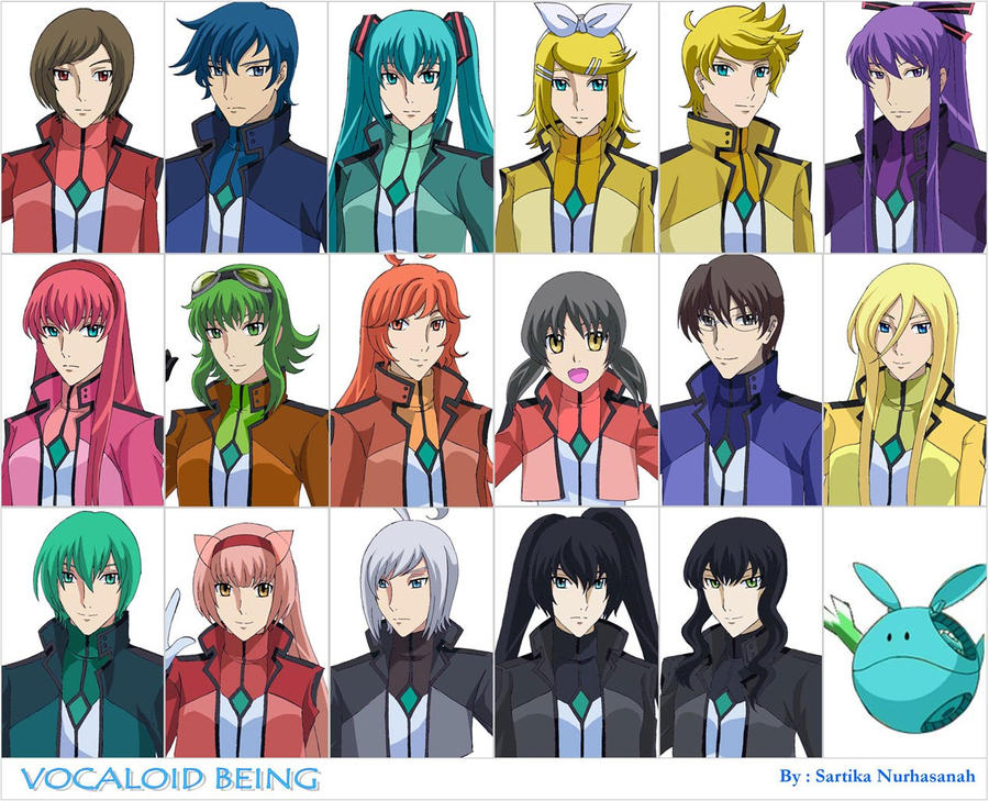 Vocaloid Being by Sartika3091 on DeviantArt Vocaloid Characters Name