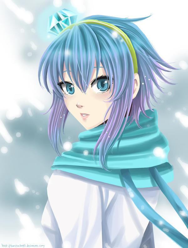 Blue Princess by Sartika3091