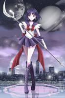 Sailor Saturn by Sartika3091