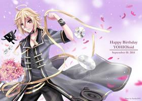 Happy 1st Birthday YOHIOloid by Sartika3091