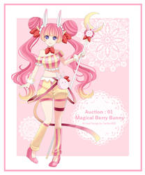 Auction 01 [OPEN] : Magical Berry Bunny
