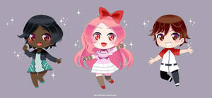 Commission : Trio Chibi