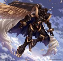 Alphamon Ouryuken by Sartika3091