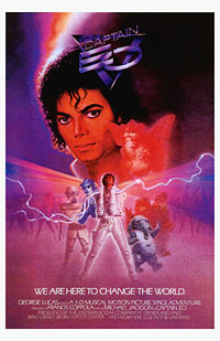 Captain Eo Cover - 1986 by Princess-rachael