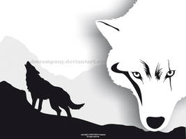 Wallpaper-Wolf by DMCompany