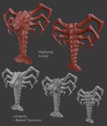 Death Claw Game Model