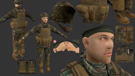 Soldier Textures