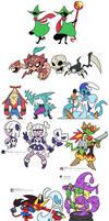 Lotsa Character Designs