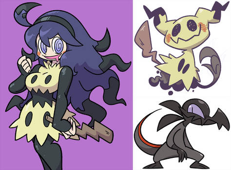 Hex Mimikyu and Company