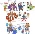 Character Design Prompts (June 2017)