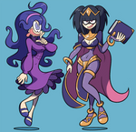 COMMISSION: Tharja and Hex Maniac