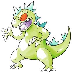 Pokemon-style Reptar by Shenaniganza