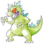 Pokemon-style Reptar