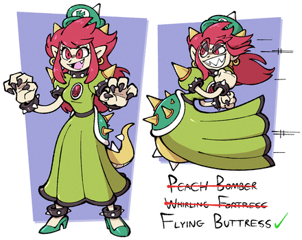 Official Bowsette by Shenaniganza