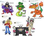 Halloween 2018 Character Design Prompts