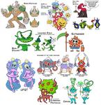 Character Design Dump 2