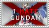 I hate Gundam by Gintokichan