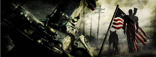 Fallout banner 3 by AkidaSoren