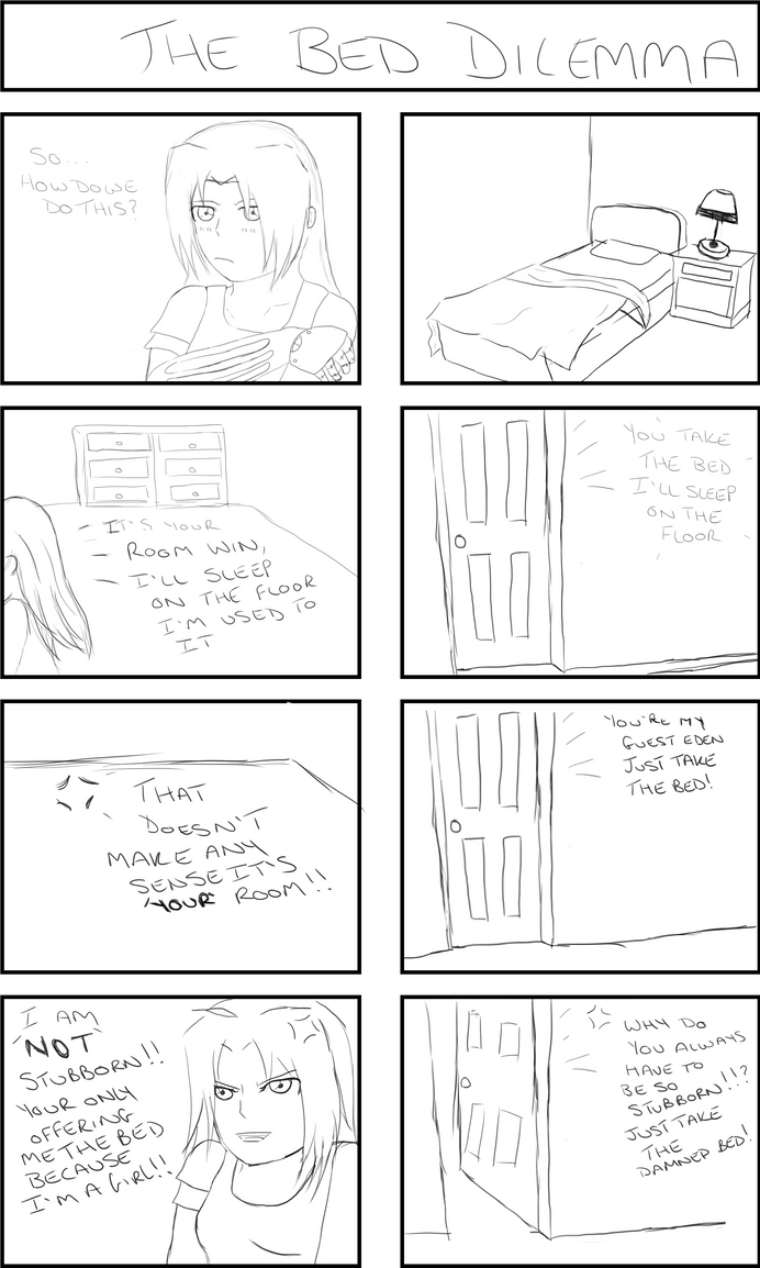 The Dilemma Ed x Win comic prt 1 by AkidaSoren