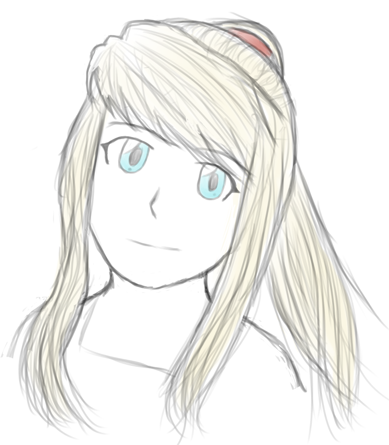 Winry sketch by AkidaSoren