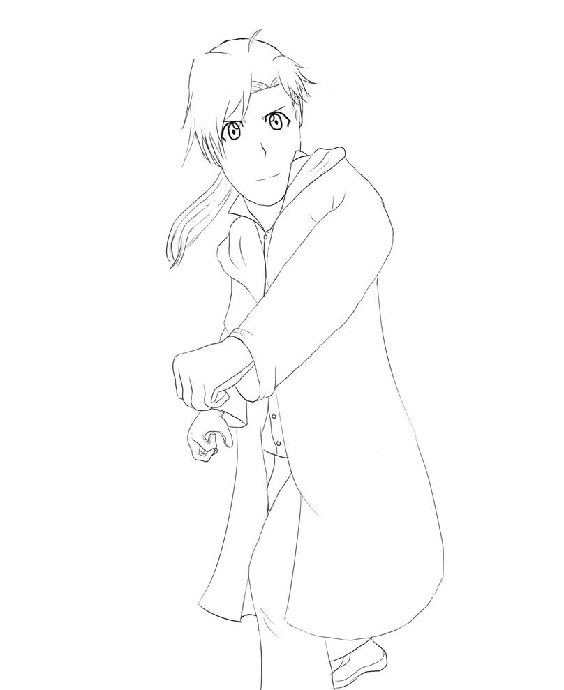 Alphonse fighting redo by AkidaSoren
