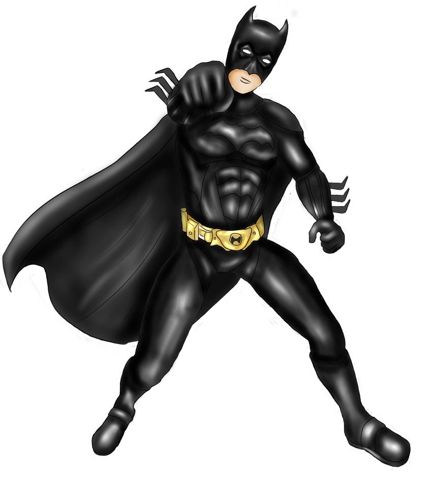 Batman for a friend by AkidaSoren
