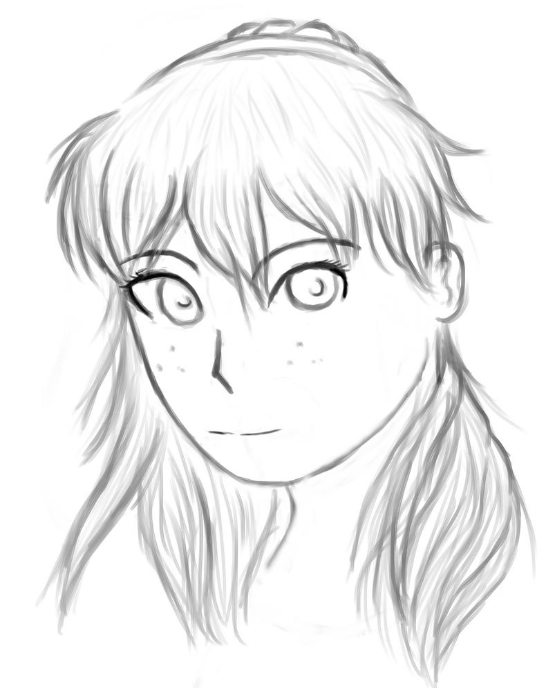 Random sketch by AkidaSoren