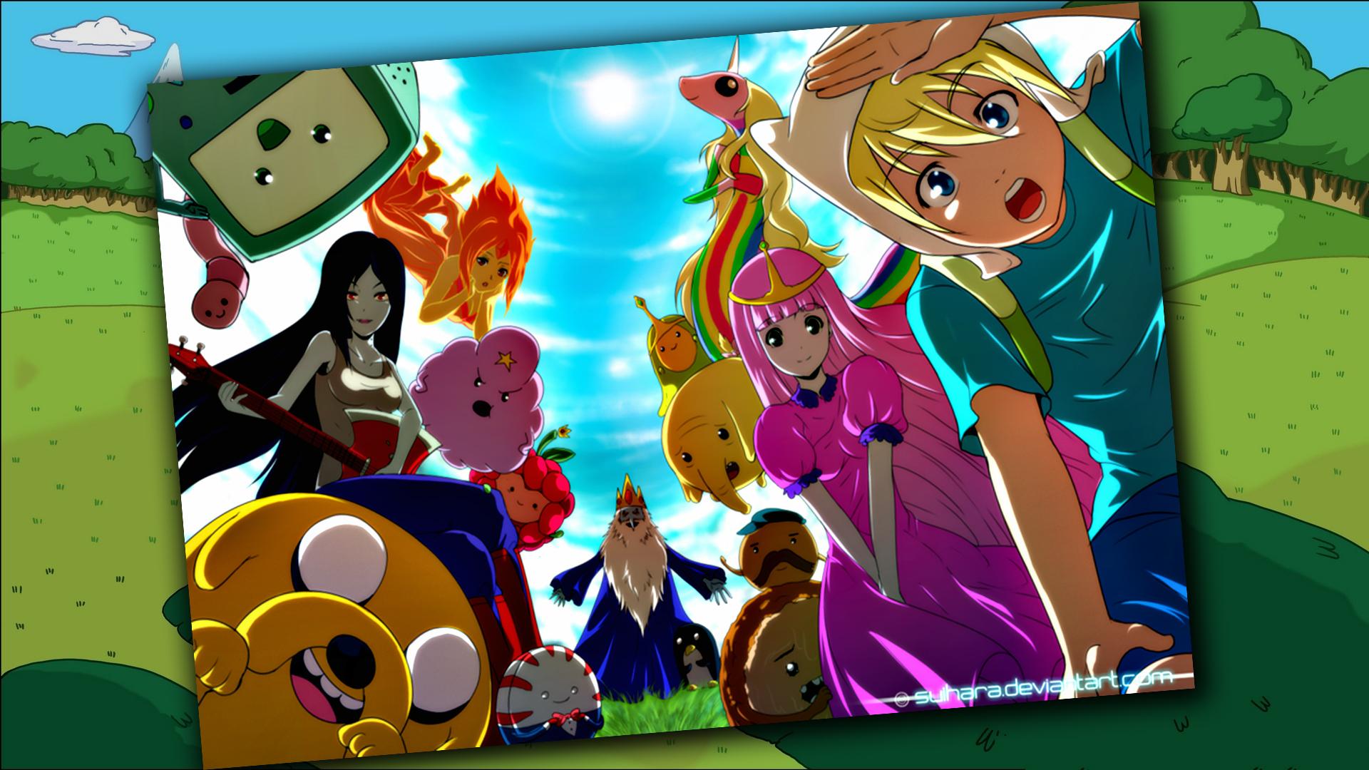 Adventure Time! By Uzotru On DeviantArt