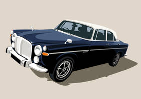 Rover P5B 3.5 litre by McJade